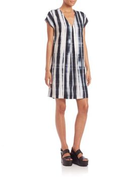 short-sleeve-dress by vince