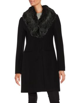 artisan-textured-cotton-blend-coat by rebecca-taylor