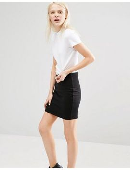 cheap-monday-ribbed-high-neck-t-shirt-with-cut-out-back by -cheap-monday-