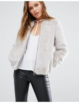 new-look-faux-fur-bomber-jacket by new-look