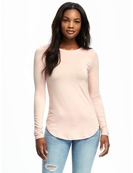 crew-neck-layering-tee-for-women by old-navy