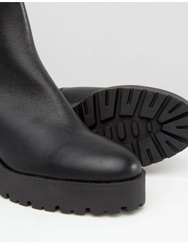 mango-zip-detail-chunky-ankle-boot by mango