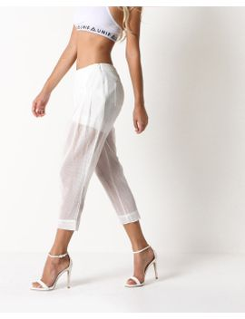 chesmu-mesh-pant-(white) by 80s-purple