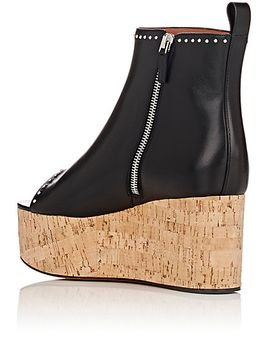elegant-line-wedge-ankle-boots by givenchy