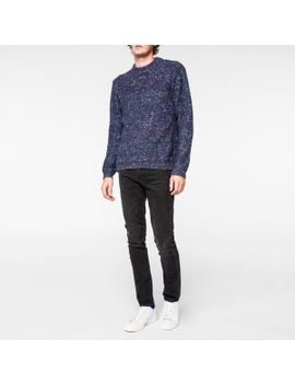 mens-navy-merino-alpaca-blend-nep-sweater by paul-smith