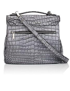 kent-crocodile-satchel by proenza-schouler