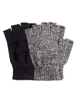 2-pack-fingerless-gloves by h&m