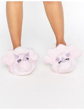 new-look-novelty-dinosaur-slippers by new-look