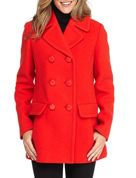 double-breasted-bow-back-coat by kate-spade-new-york