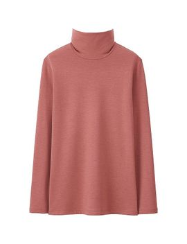 heattech-extra-warm-women-turtle-neck-t-shirt by uniqlo