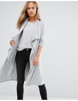 vila-drape-front-cardigan by vila
