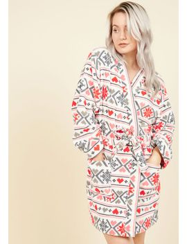 beloved-bedtime-reading-robe-in-fair-islebeloved-bedtime-reading-robe-in-fair-isle by modcloth