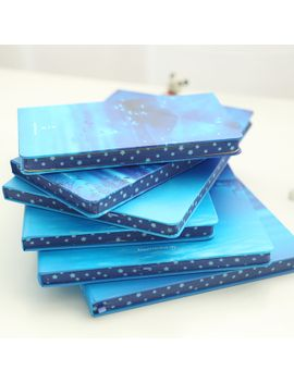 1pcs-beautiful-sky-large-notebook-hard-copybook--creative-diary-book-96sheets-composition-book by ali-express