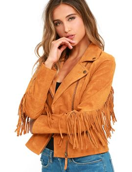 white-crow-westerner-tan-suede-leather-fringe-jacket by white-crow