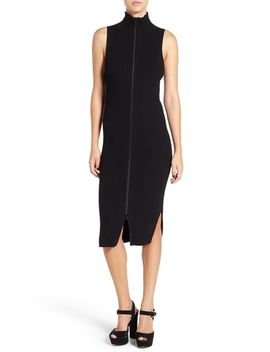 zip-front-midi-dress by leith