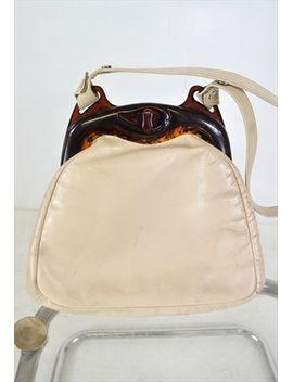 vintage-lucite-leather-bag by no-brand-name