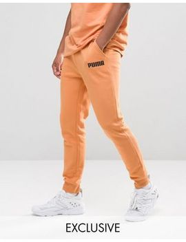 puma-skinny-lounge-joggers-in-orange-exclusive-to-asos by puma