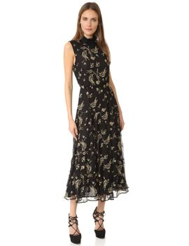 embroidered-ruffle-dress by suno