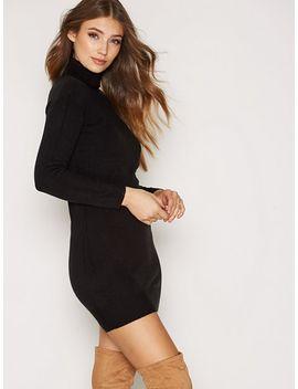 jdybellami-l_s-highneck-dress-knt by jacqueline-de-yong