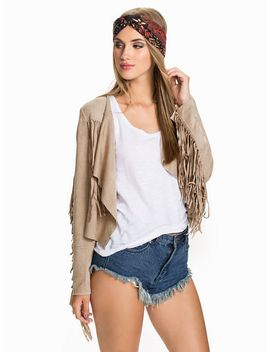 suede-jacket by glamorous