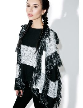 borderline-fringed-sweater by moon-river