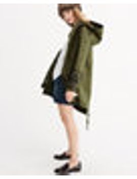 embellished-twill-parka by abercrombie-&-fitch