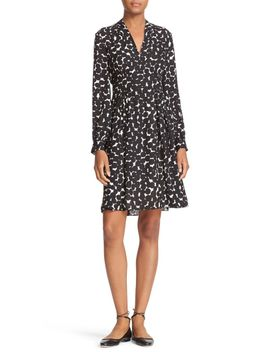 blot-dot-silk-dress by kate-spade-new-york