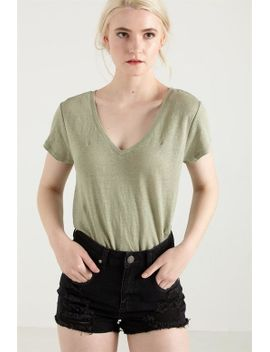 91-linen-v-neck-tee by cotton-on