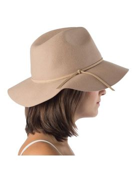 Indy Hat In Beige by Joyus