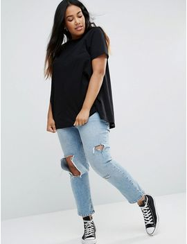 asos-curve-swing-t-shirt-2-pack-save-10% by asos-curve