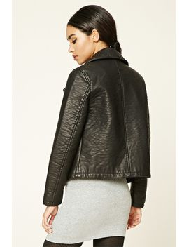 textured-moto-jacket by forever-21
