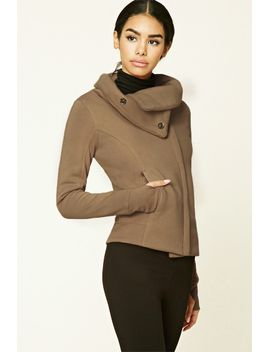 zip-funnel-neck-jacket by forever-21