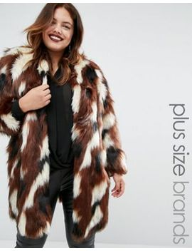 elvi-patchwork-faux-fur-coat by elvi