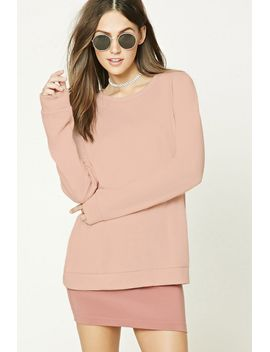 french-terry-sweatshirt by forever-21