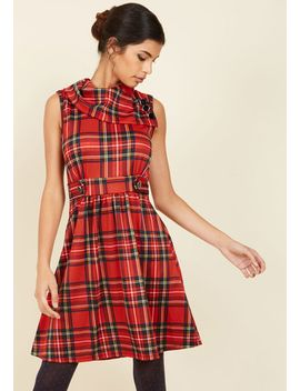 coach-tour-a-line-dress-in-rouge by modcloth