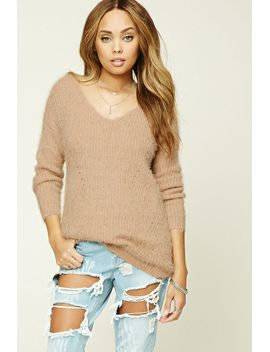 faux-mohair-sweater by forever-21