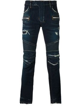 Biker Jeans by Balmain