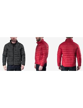e65f7de738 Shoptagr | Men's Packable Down Jacket by Hawke & Co. Outfitter