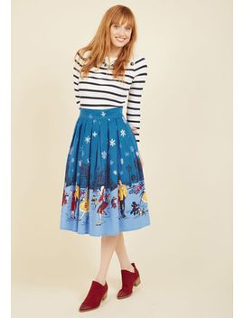 starry-soiree-midi-skirt by modcloth