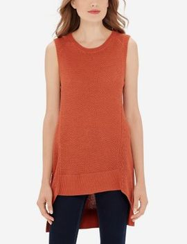 Textured High Low Tunic by The Limited