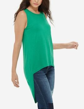 Sleeveless High Low Tank by The Limited