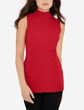 Textured Turtleneck Top by The Limited