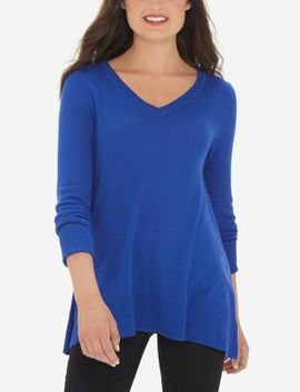 V Neck Trapeze Tunic by The Limited