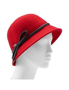 betmar-christina-loop-trim-felt-cloche-hat by kohls f078d6d682f