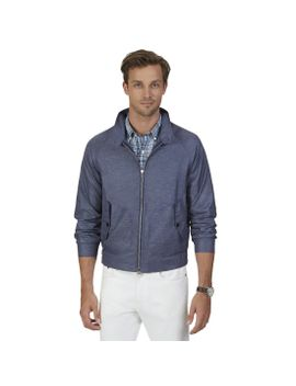 Button Collar Windbreaker by Nautica
