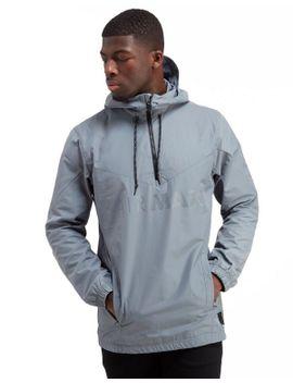 shoptagr nike air max half zip chevron jacket by nike. Black Bedroom Furniture Sets. Home Design Ideas