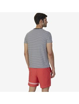 Striped V Neck T Shirt by Nautica