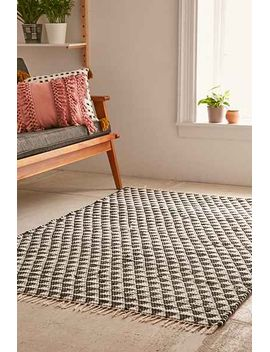 triangle-woven-rug by urban-outfitters