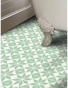 Shoptagr Vinyl Floor Tile Sticker Floor Decals Carreaux Ciment - Encaustic vinyl flooring