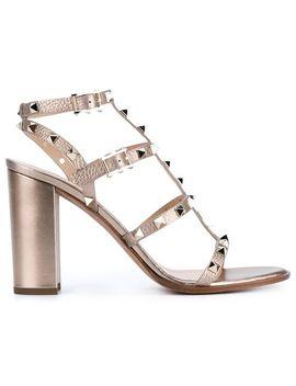 valentino-garavani-rockstud-sandals by valentino